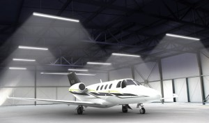 Hangar lighting