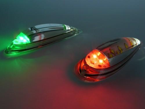 PowerBurst navigation position strobe lights