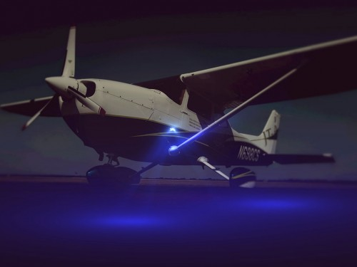 Cessna-ground-illumination