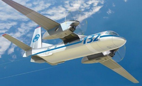 Aveo Selected for New Antonov 132 Joint Saudi/Ukraine Production