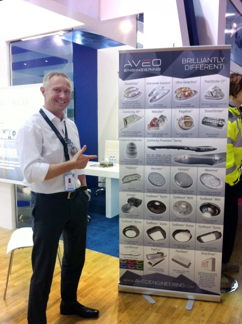 Aveo Engineering at 2015 Dubai Air Show!