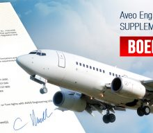 Aveo Engineering Group achieves EASA SUPPLEMENTAL TYPE CERTIFICATE for BOEING 737