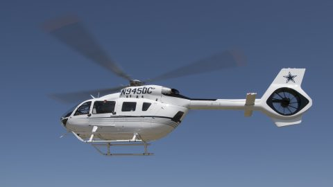 Aveo RedBaron, PosiStrobe CP and Ultras on Dallas Cowboys new Airbus Helicopter!!!!!