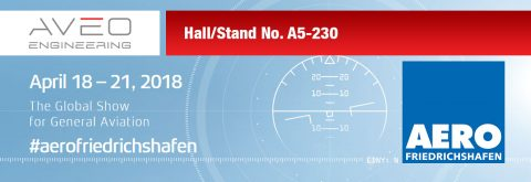 Come and see us at AERO Friedrichshafen – Hall/Stand No. A5-230