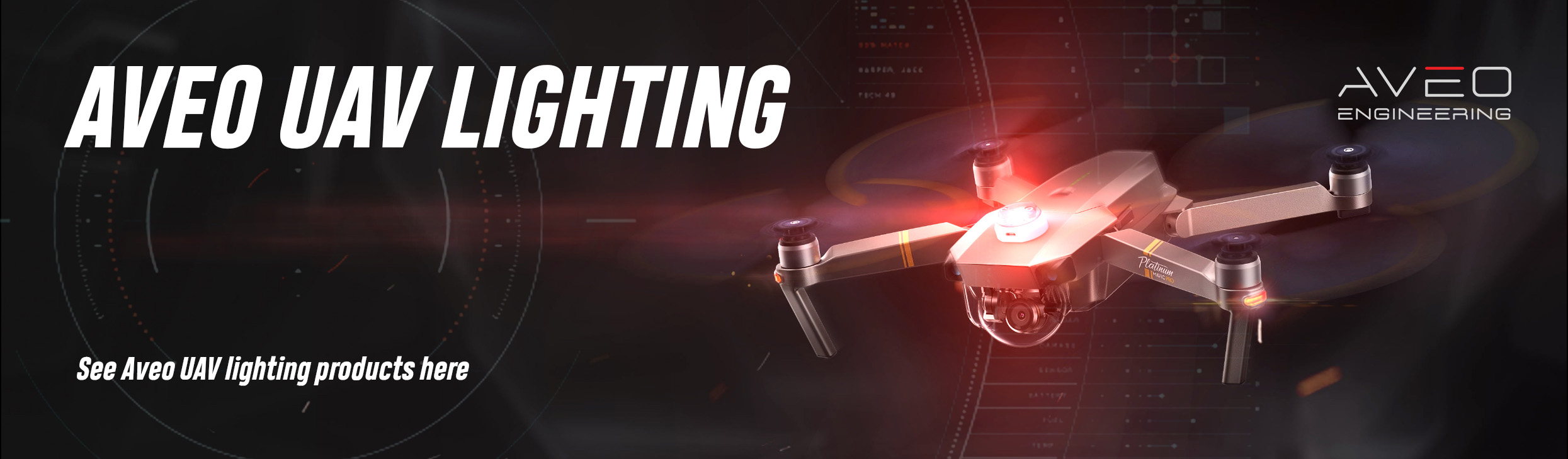 Aveo UAV Lighting