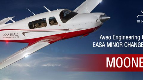 Aveo Engineering Group achieves EASA MINOR CHANGE APPROVAL for MOONEY M20