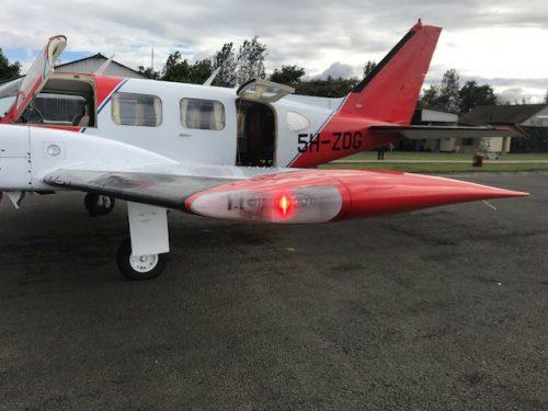 Ultra Galactica Embedded - wingtip nav / strobe light