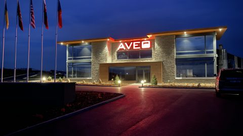 Aveo celebrates its latest building, the new HQ building at its Czech aerospace cluster in Pribram, Czech Republic