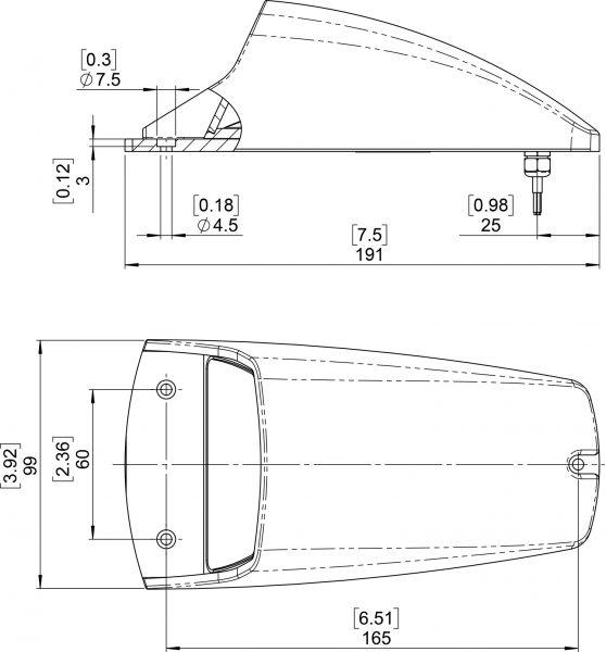 Pacifica II Mini - drawing